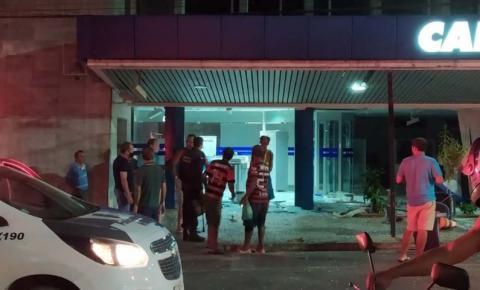 Após ser depredada, agência da Caixa Econômica volta a funcionar em Alegre