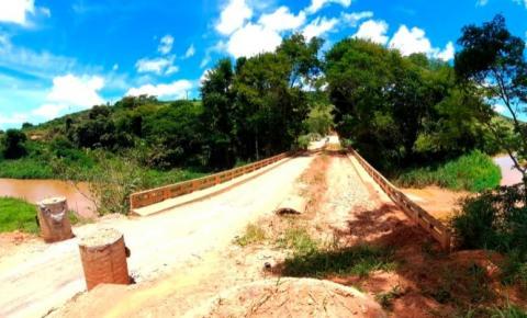 Ponte entre Manhumirim e Reduto será restaurada informa o Governo de MG