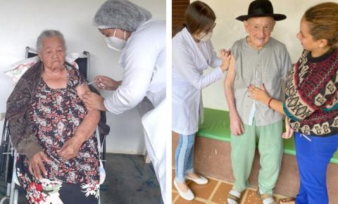 Divino de São Lourenço é o 1° município da região do Caparaó a finalizar etapa de vacinação