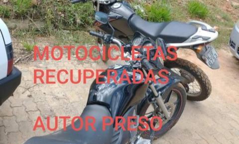 PM recupera motocicletas furtadas em Carangola