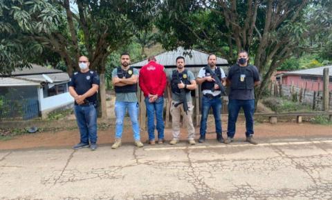 PC deflagra operação Nevoeiro e prende no ES suspeito de homicídio em Divino
