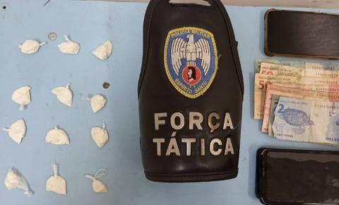 PM apreende drogas e detêm quatro suspeitos em Dores do Rio Preto