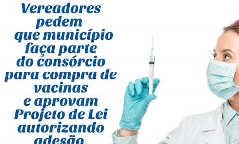 Câmara de Espera Feliz aprova projeto de lei para compra de vacinas contra a Covid-19