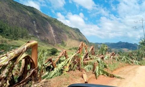Estudo vai calcular os danos causados pela chuva de granizo na agricultura capixaba