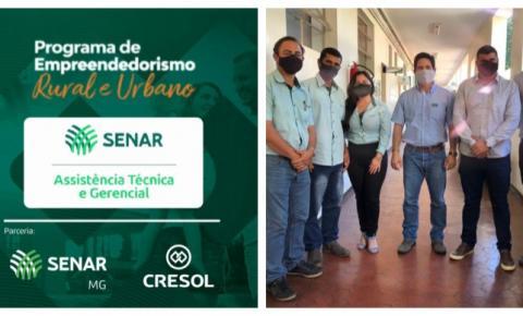 Cresol e Senar MG assinam parceria para atender 75 produtores da região