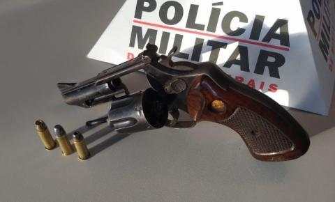Homem é preso após disparo de arma de fogo em zona rural de Espera Feliz