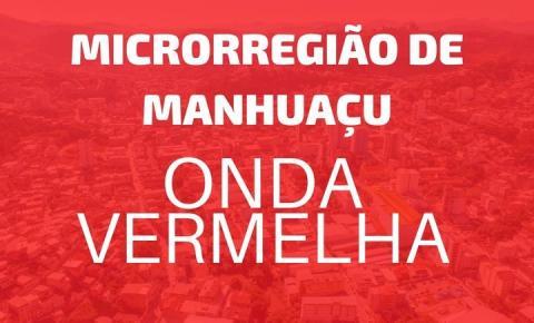Microrregião de Manhuaçu avança para a Onda Vermelha do Minas Consciente.