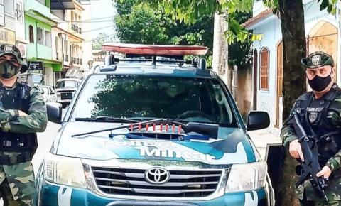 Polícia Militar Ambiental realiza apreensão de arma de fogo em zona rural