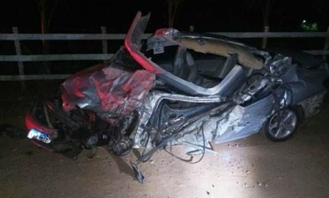 Grave acidente em Divino tira a vida de duas pessoas e três ficam feridas