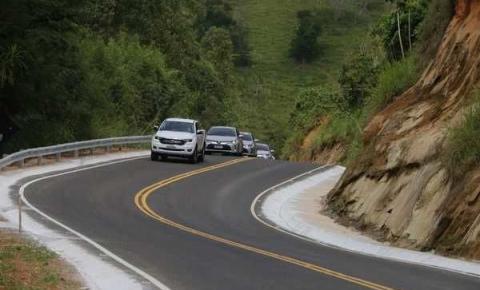Governo do ES entrega obras de pavimentação na Região do Caparaó Capixaba