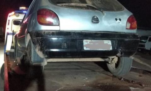 PM de Alto Jequitibá prende autor e apreende veículo adulterado