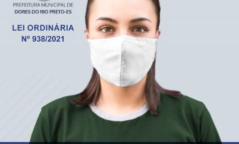Nova lei prevê multa para quem não usar máscara em Dores do Rio Preto