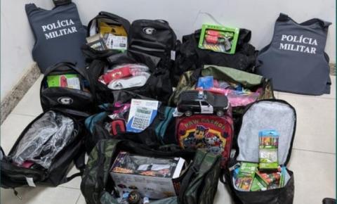 Jovens furtam produtos de loja em Guaçuí e são apreendidos pela polícia