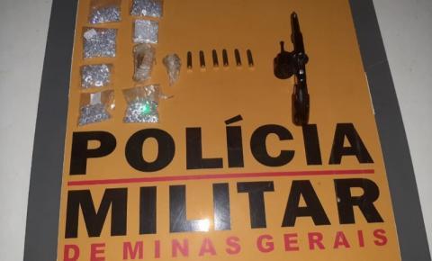 PM Rodoviária de Espera Feliz apreende arma, drogas e pedras preciosas na rodovia