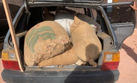 PM prende autores de furto e recuperam sacas de café em Alto Jequitibá