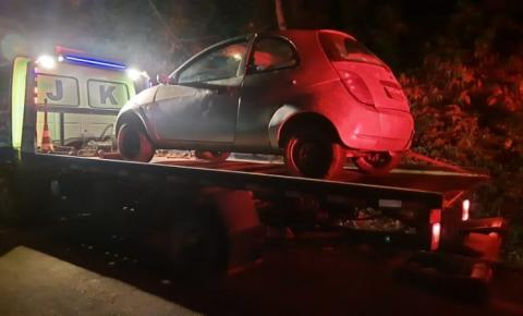 Durante abordagem PM de Manhumirim recupera veículo roubado