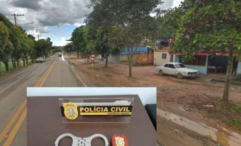 Polícia Civil de Guaçuí prende homem considerado um dos maiores ladrões da cidade