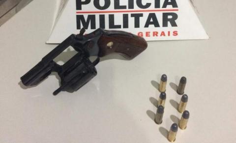 Polícia apreende Arma em Caiana