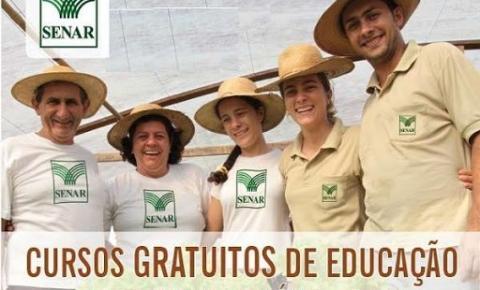 Confira a agenda de cursos do Senar em Espera Feliz e região para a próxima semana