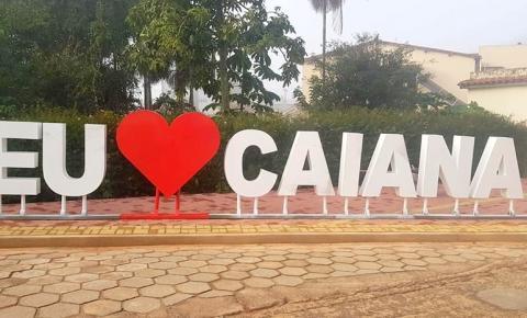 Caiana ganha novo letreiro turístico