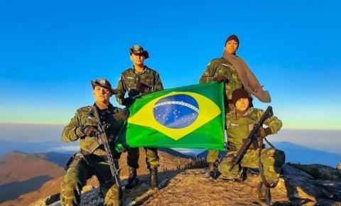 PM Ambiental participa de manobra militar no Parque Nacional do Caparaó