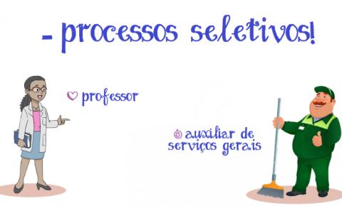 Abertas seleções para Professor e Auxiliar de Serviços Gerais em Caparaó