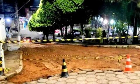 MP recomenda que a Prefeitura paralise obras no entorno da Igreja Matriz em Espera Feliz