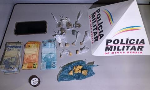 PM prende autores de tráfico e apreende drogas e dinheiro em Espera Feliz