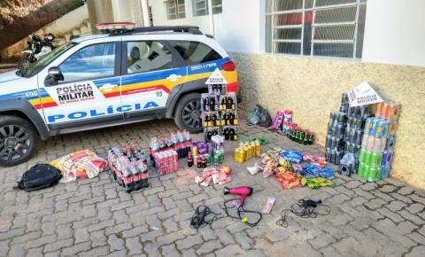 PM prende autores de furto e receptação e recupera materiais furtados em Espera Feliz