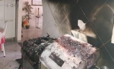 Explosão em cozinha deixa vítima fatal em Alegre