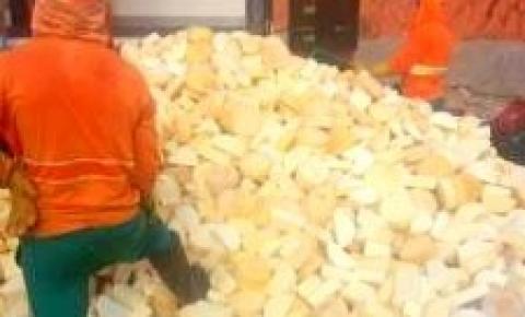 IDAF apreende mais de cinco toneladas de queijo em Dores do Rio Preto