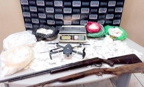 Polícia prende homem apontado como o chefe do tráfico de drogas na região de Carangola