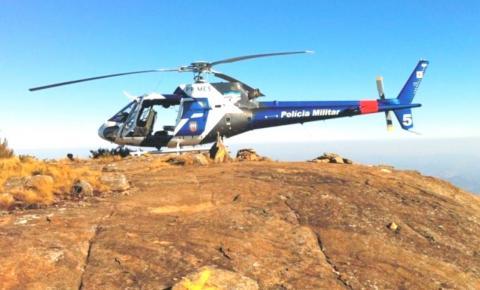 Adolescente é resgatada pelos bombeiros após passar mal no Pico da Bandeira