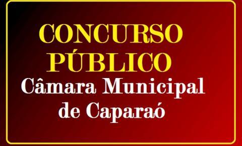 CÂMARA MUNICIPAL DE CAPARAÓ PUBLICA EDITAL DE CONCURSO PÚBLICO