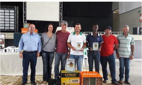 Caiana em 1°e 3° Lugar no XVIII Concurso Regional de Qualidade dos Cafés das Matas de Minas