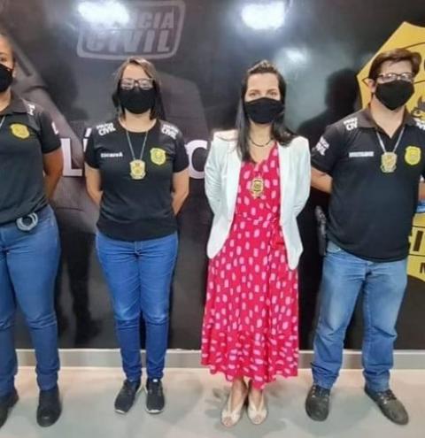 Polícia Civil efetua a primeira prisão pelo crime de